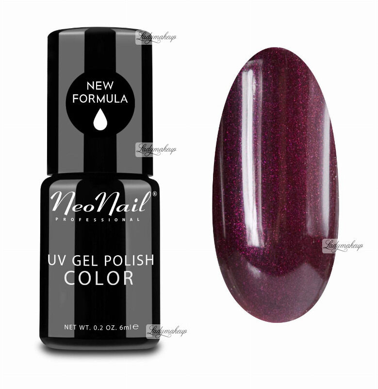 NeoNail - UV GEL POLISH COLOR - LADY IN RED - Lakier hybrydowy - 2615-1 - OPAL WINE