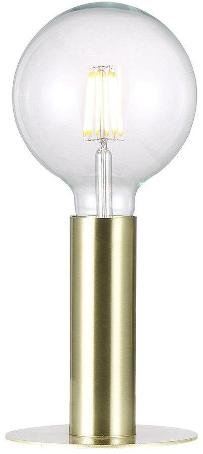 Lampa stołowa Dean 46605025 Nordlux mosiężna oprawa w minimalistycznym stylu