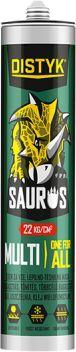 Klej montażowy Saurus Multi polimer biały 290ml Mamut