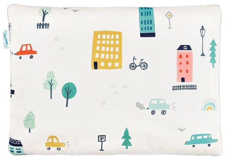 Poduszka bawełniano - welurowa city transport