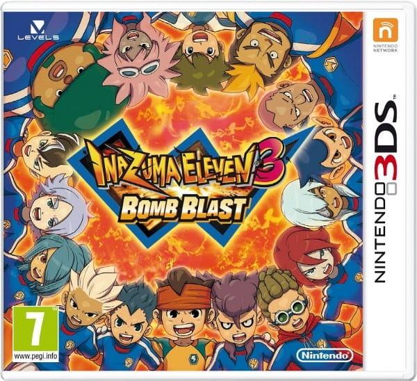 Gra Inazuma Eleven: Bomb Blast (Nintendo 3DS)