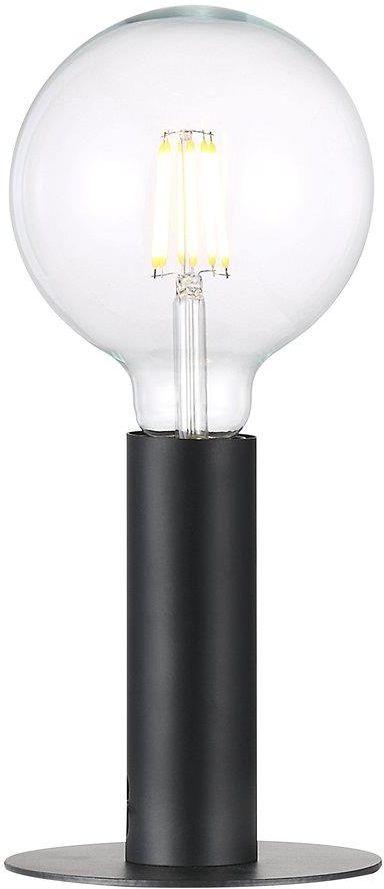 Lampa stołowa Dean 46605003 Nordlux czarna oprawa w minimalistycznym stylu
