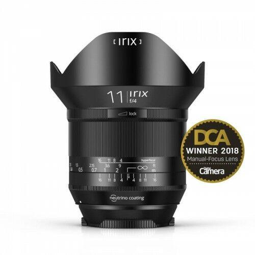 Irix 11mm f/4 Blackstone do Canon