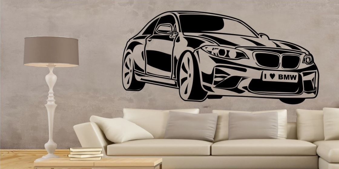 Naklejka Pojazdy BMW