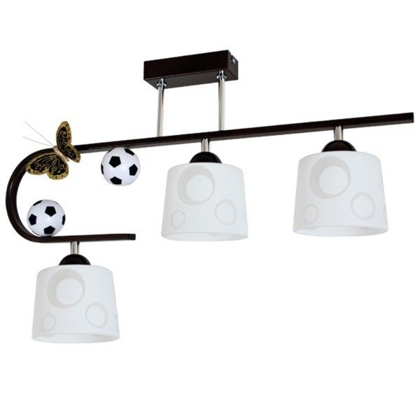 Lampa sufitowa Football wenge III