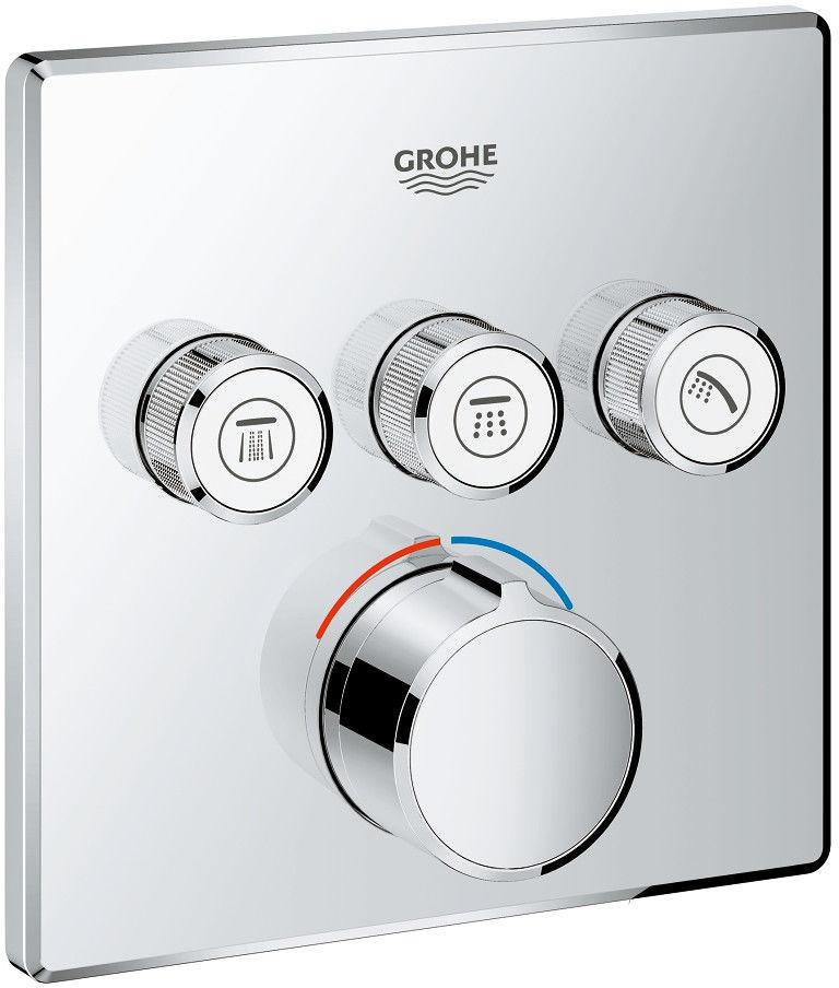 SmartControl Grohe bateria prysznicowa podtynkowa chrom - 29149000 Darmowa dostawa
