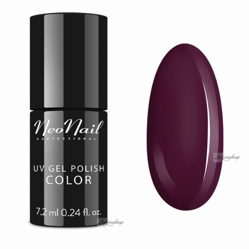 NeoNail - UV GEL POLISH COLOR - LADY IN RED - Lakier hybrydowy - 2691-7 - CALM BURGUNDY