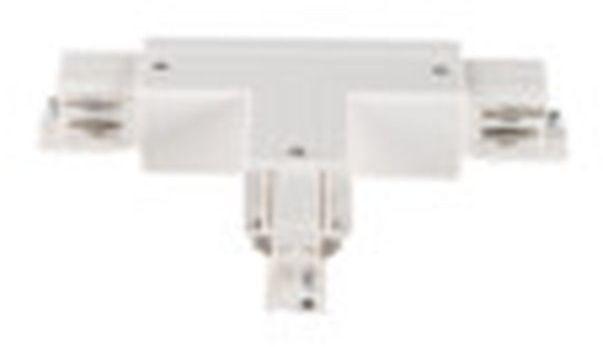 Elementy systemu szynowego TEAR łącznik T TEAR N CON-T LRR-W biały 33262