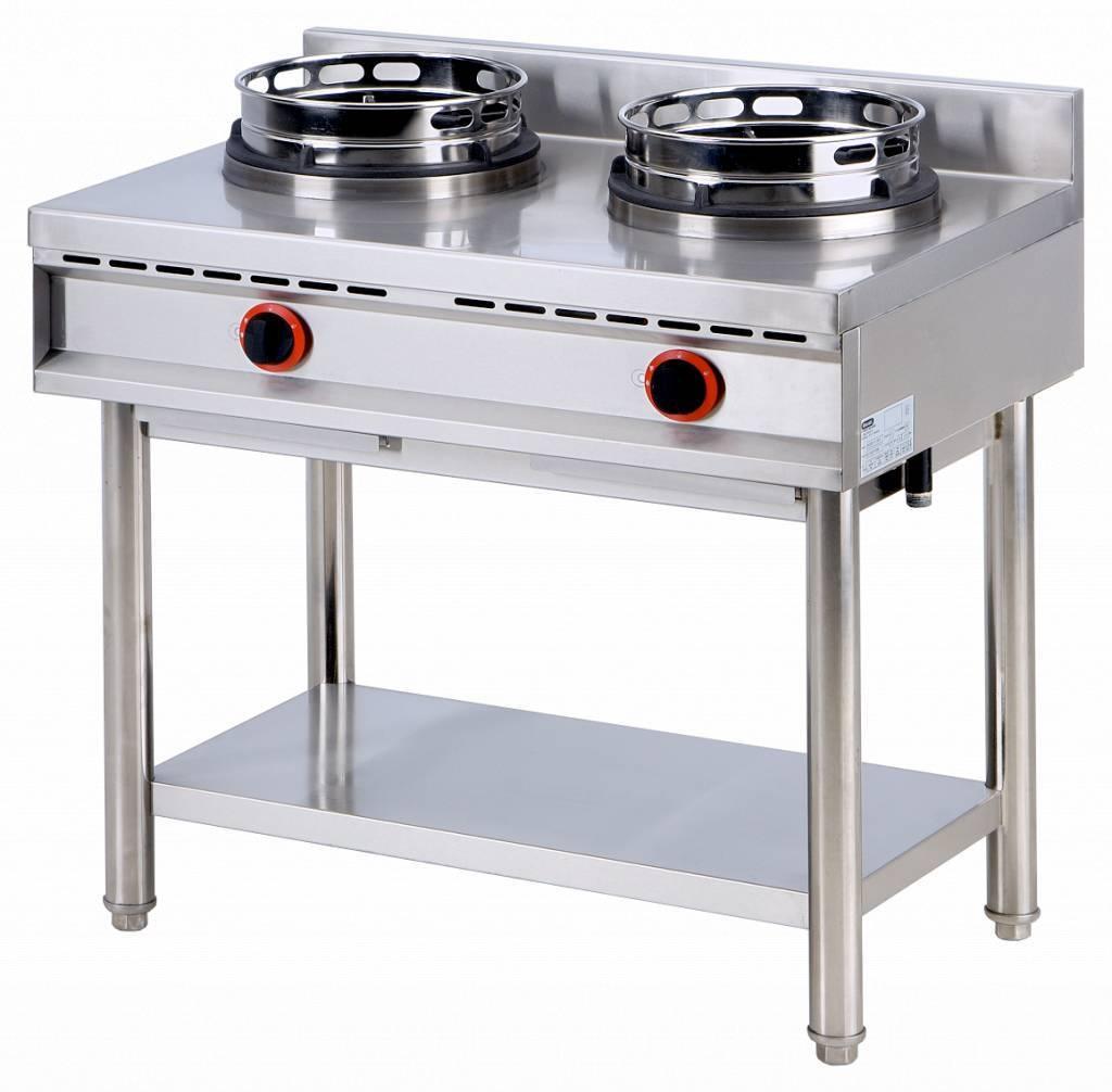 Kuchnia wok 2x10000W 900x600x(H)800mm