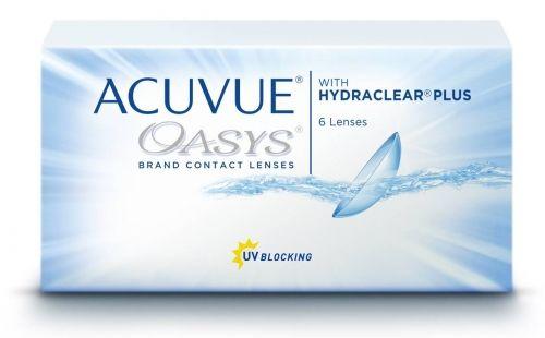 Acuvue Oasys Hydraclear Plus - ( 6 sztuk )