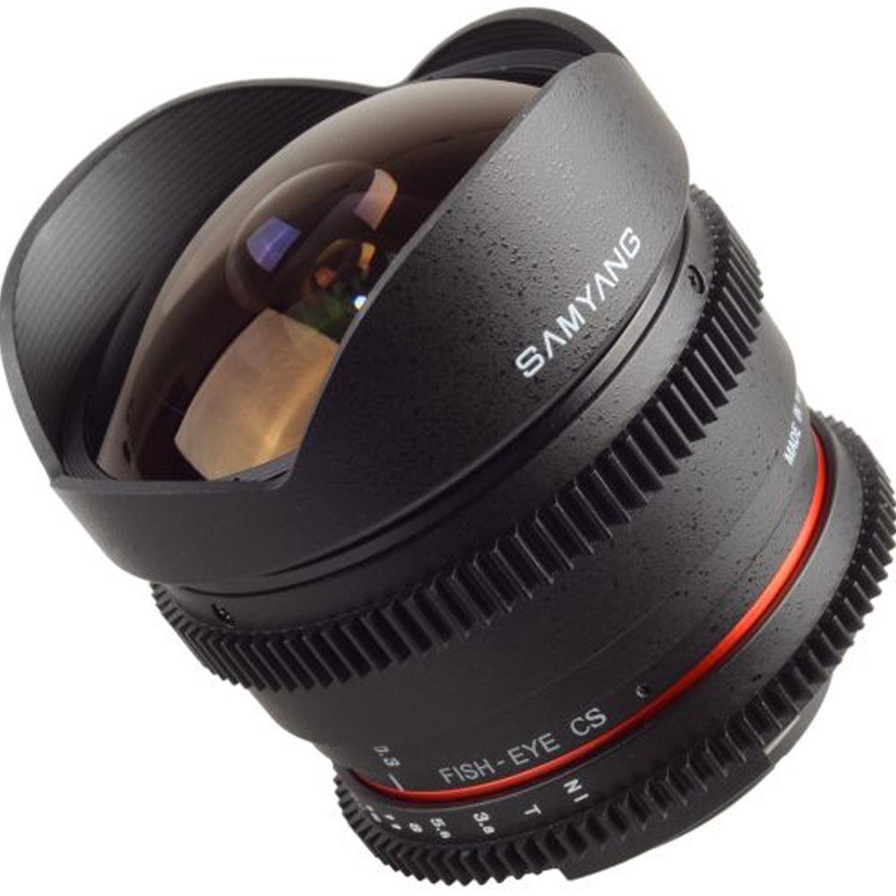 Obiektyw Samyang 8mm T3.8 VDSLR Fisheye CS Nikon