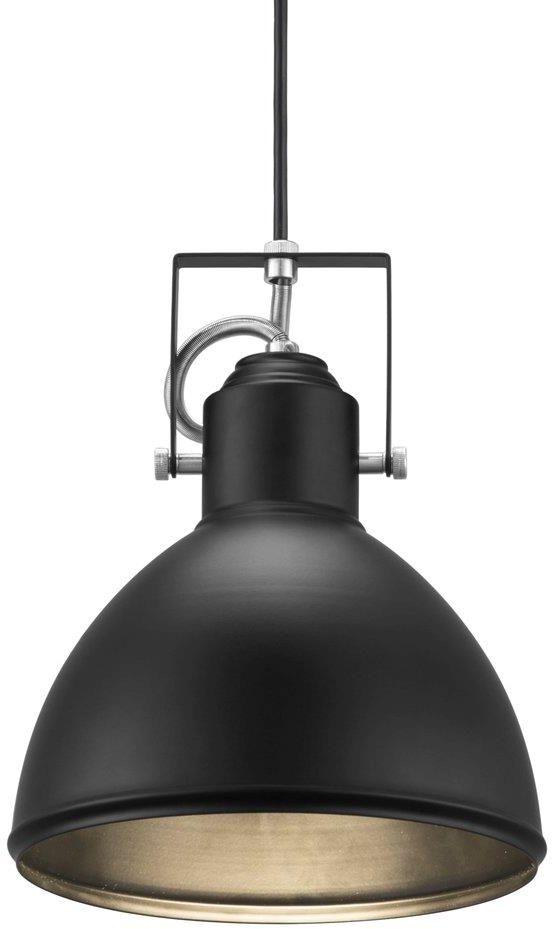 Lampa wisząca Aslak 46553003 Nordlux czarna oprawa w stylu loft