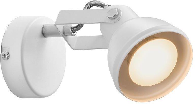 Kinkiet Aslak 45721001 Nordlux biała ruchoma oprawa w nowoczesnym stylu