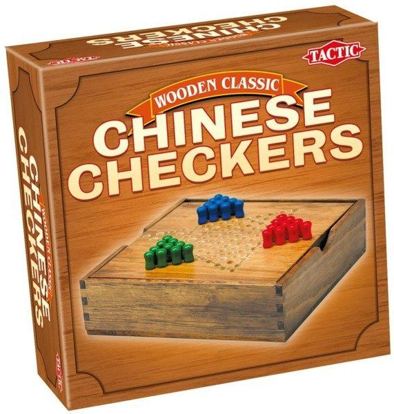Wooden Classic - Chińskie Warcaby - Tactic
