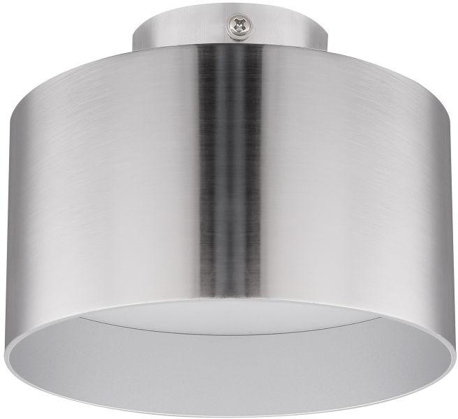 Globo JENNY 12016N plafon lampa sufitowa nikiel mat 1xLED 16W 1xLED 6W 4000K 14cm