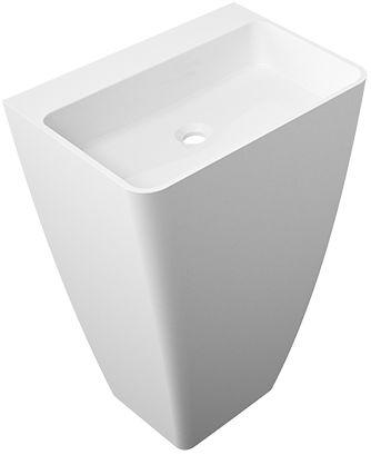 Omnires Parma UW umywalka wolnostojąca bez otworów biały połysk ParmaUWBOBPMarble+