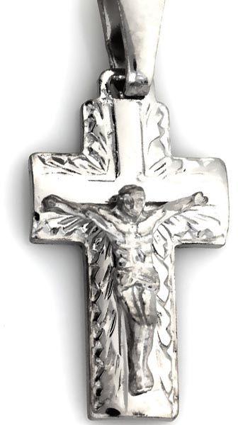 Srebrny Krzyżyk 925 zawieszka z Jezusem 1,78g