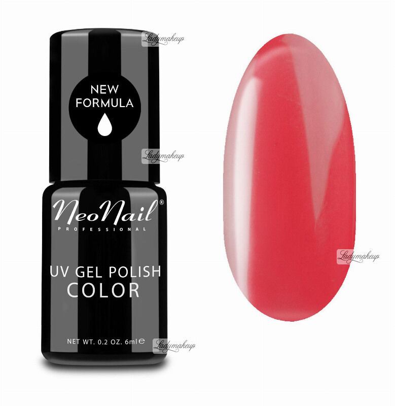 NeoNail - UV GEL POLISH COLOR - LADY IN RED - Lakier hybrydowy - 3764-1 - HOT SAMBA