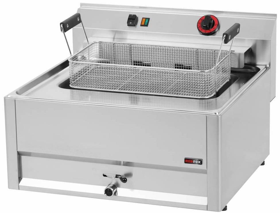 Frytownica elektryczna 16L 9000W 660x600x(H)290mm