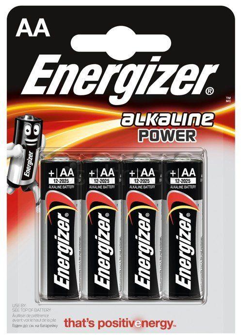 Baterie alkaliczne Energizer Alkaline Power LR6/AA (blister) 4 sztuki