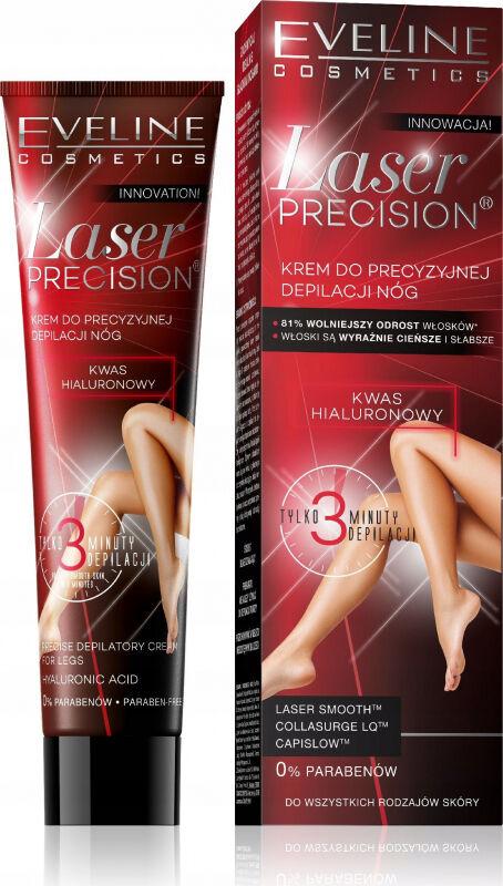EVELINE - Laser Precision - Krem do precyzyjnej depilacji nóg - 125 ml