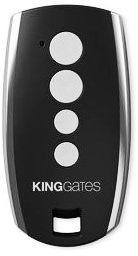 Pilot king gates stylo 4-kanałowy z kodem dynamicznie zmiennym 433,92 mhz, czarny - możliwość montażu - zadzwoń: 34 333 57 04 - 37 sklepów w całej polsce
