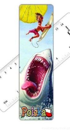 Zakładka do książki 3D Polska - rekin