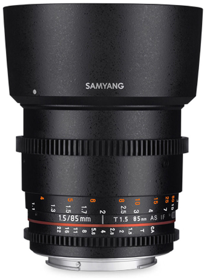 Samyang 85mm T1.5 VDSLR do Pentax