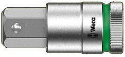 """nasadka 1/2"""" z końcówką imbusową 6-kątną M17/60mm z funkcją przytrzymywania 8740 C HF Zyklop Wera [05003828001]"""