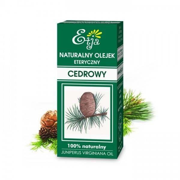 Etja cedrowy olejek eteryczny 10 ml