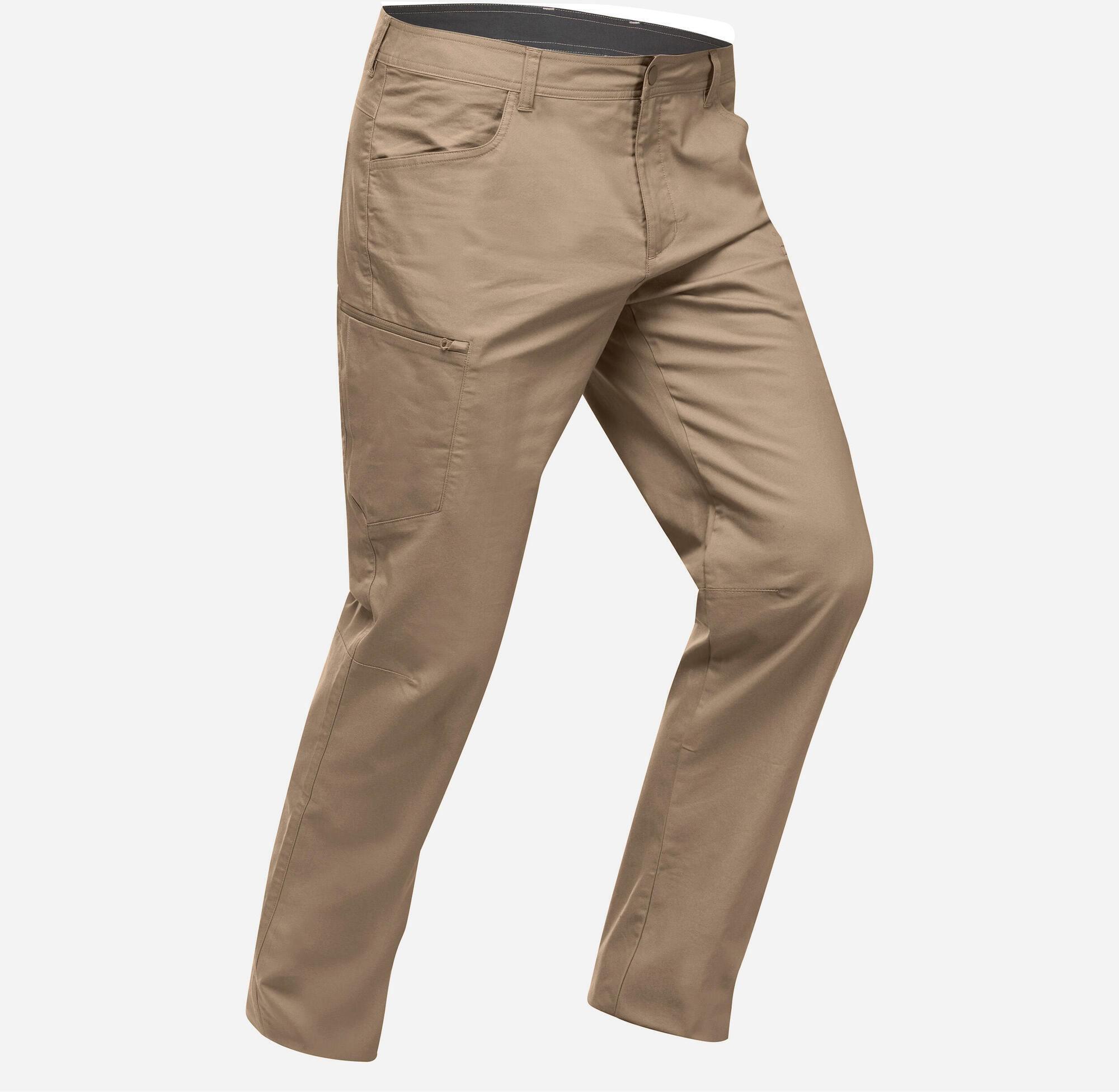 Spodnie turystyczne - NH500 Regular - męskie
