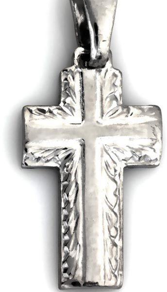 Srebrna zawieszka 925 wisiorek krzyżyk 1,41g