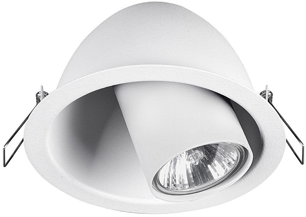 Oprawa wpuszczana Dot 9378 Nowodvorski Lighting biała ruchoma oprawa sufitowa