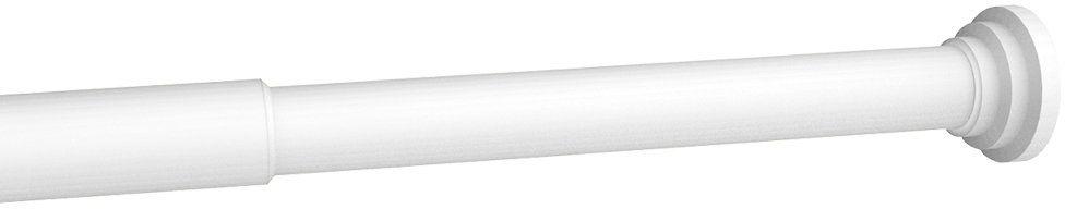 Fix Rod Karnisz, wysuwany pomiędzy 2 ścianami, metal, biały, 90 à 140 cm