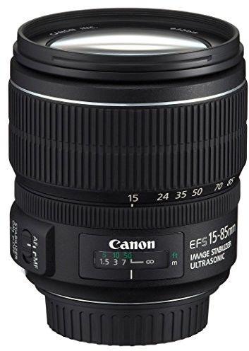 Canon EF-S 15-85mm f/3.5-5.6 IS USM Czarny