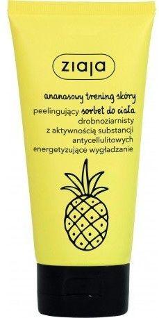 Ziaja ananasowy peelingujący sorbet do ciała 160 ml