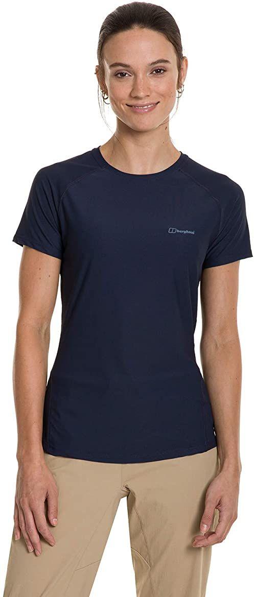 Berghaus damska koszulka z krótkim rękawem 24/7, o zmierzchu, 18