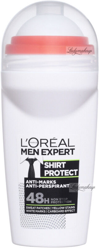 L''Oréal - MEN EXPERT - SHIRT PROTECT ANTI MARKS ANTI-PERSPIRANT - Dezodorant / Antyperspirant w kulce dla mężczyzn 48H - 50 ml