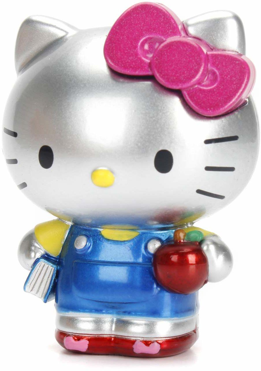 Dickie Toys 253240001 Hello Kitty figurka z odlewu ciśnieniowego, do zbierania, figurka kolekcjonerska, 3 różne wersje, zakres dostawy: 1 sztuka, 6 cm, od 3 lat