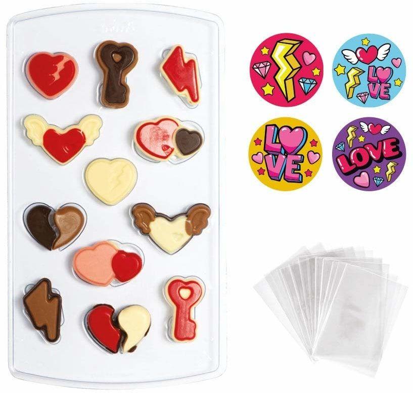 DECORA 0890011 zestaw foremek w kształcie serca 15 x 26 cm