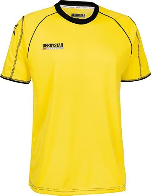 Derbystar Koszulka piłkarska Uni Energy krótka żółty żółty/czarny 140-152