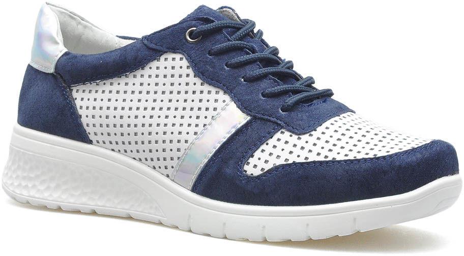 Sneakersy Filippo DP1389/20 WH NV Białe/Granatowe lico
