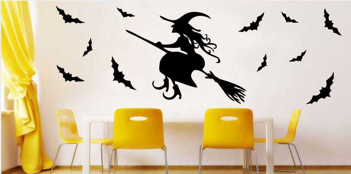 Naklejka postać czarownica