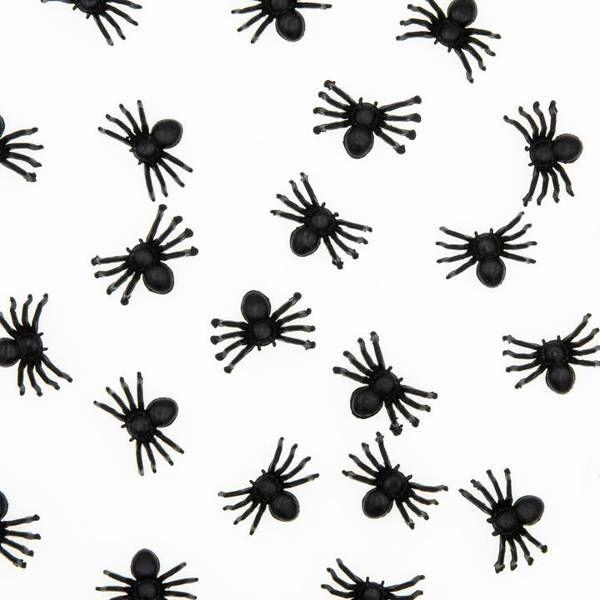 Konfetti pająki na Halloween 10 sztuk 512530