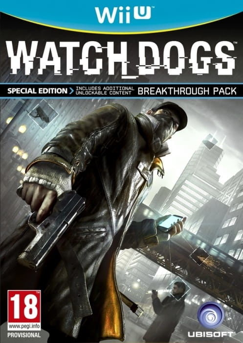 Gra Watch_Dogs (Nintendo WiiU)