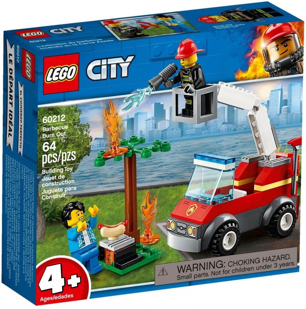 LEGO Klocki City Płonący grill