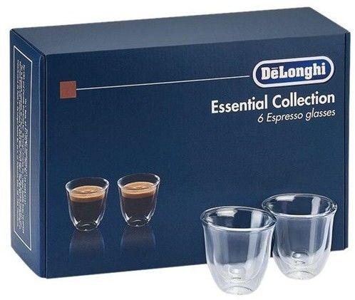 Zestaw szklanek termicznych do espresso DeLonghi 5513296651 DLSC300 (6 szt.)