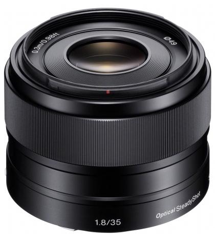 Sony E 35mm F1.8 OSS - obiektyw stałoogniskowy, SEL35F18 Sony SEL35F18