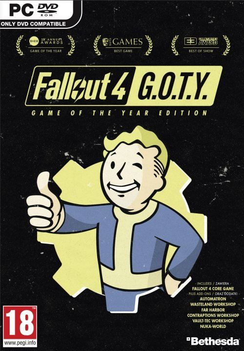Fallout 4: Game of the Year Edition (PC) PL klucz Steam