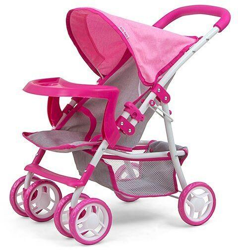 Milly Mally Wózek dla lalek Kate Prestige Pink